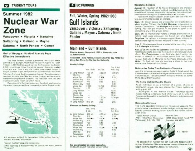 Ferry flyers