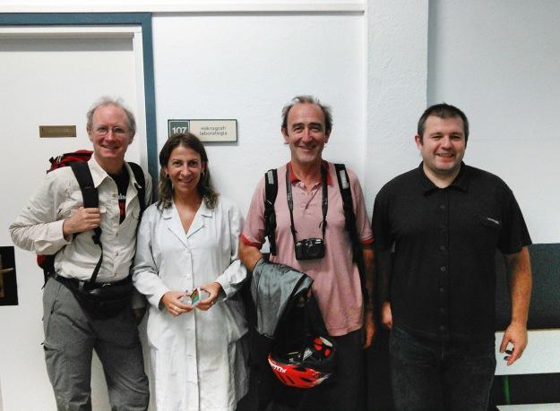 Bill Horne, Idoia Egurdibe, Juan Barbé & Pablo Eguskiza.