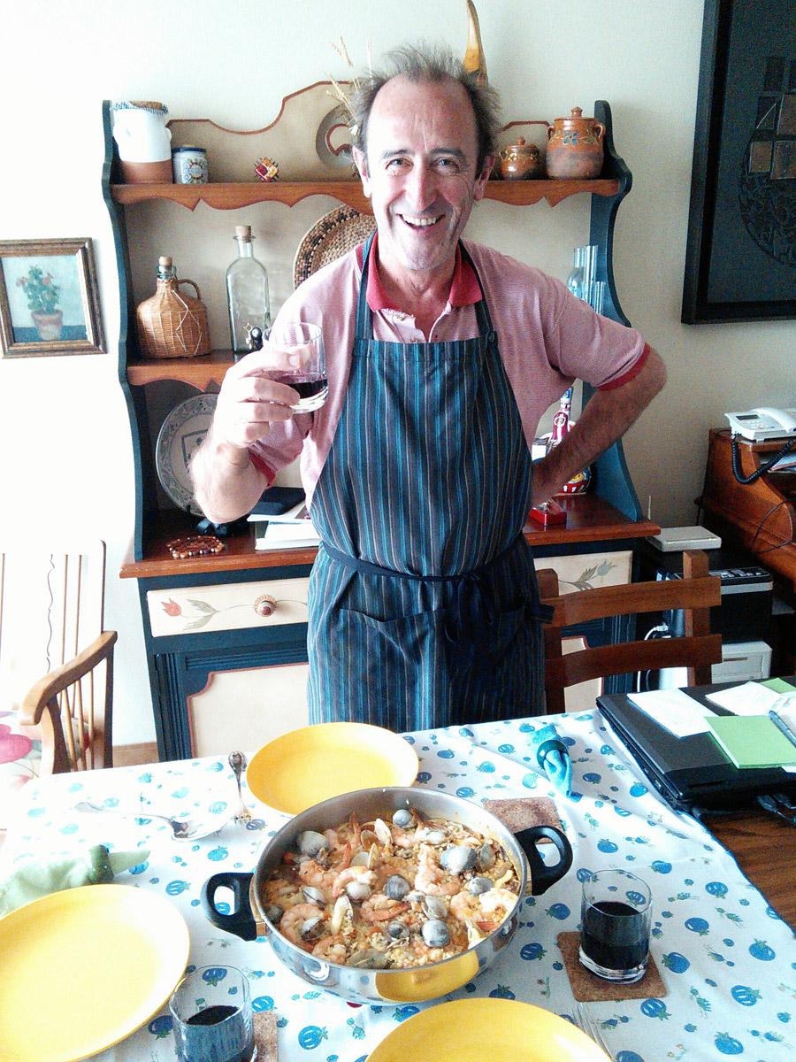 Cocinero-papelero orgulloso ;-)