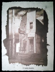 Good Eats, Van Dyke print © Kathy Kinakin.