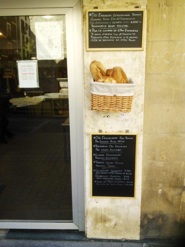 Organic bakery, Deba.